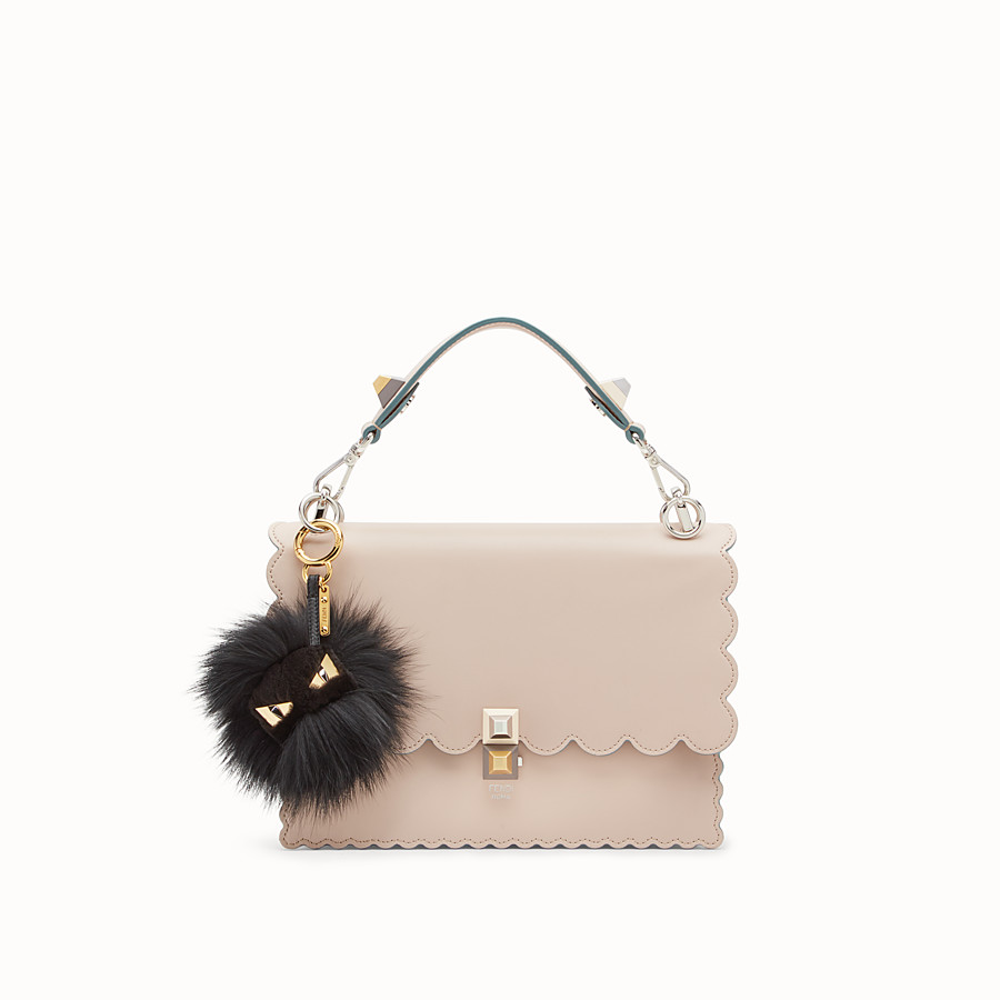 FENDI BAG BUGS CHARM - Black fur charm - view 2 detail