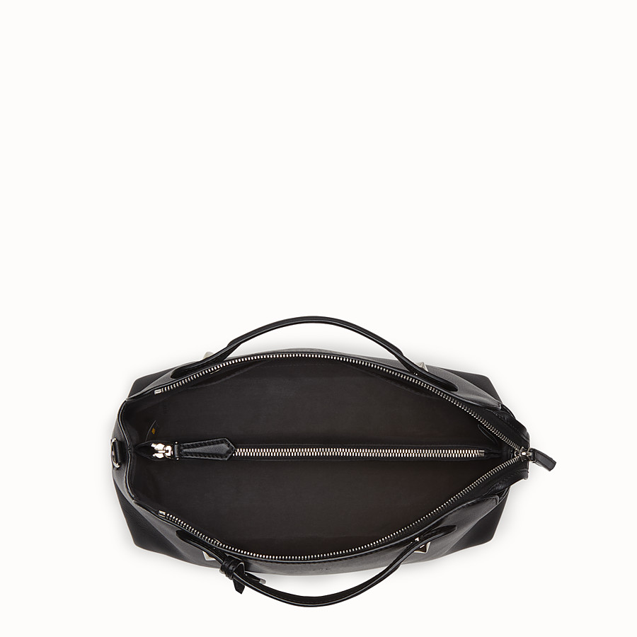 FENDI GRAND BY THE WAY - en cuir noir - view 4 detail