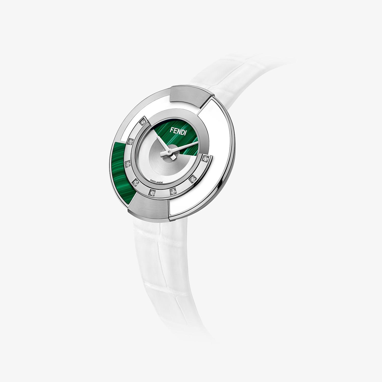FENDI POLICROMIA - 38 mm - Orologio con diamanti e pietre naturali - vista 2 dettaglio