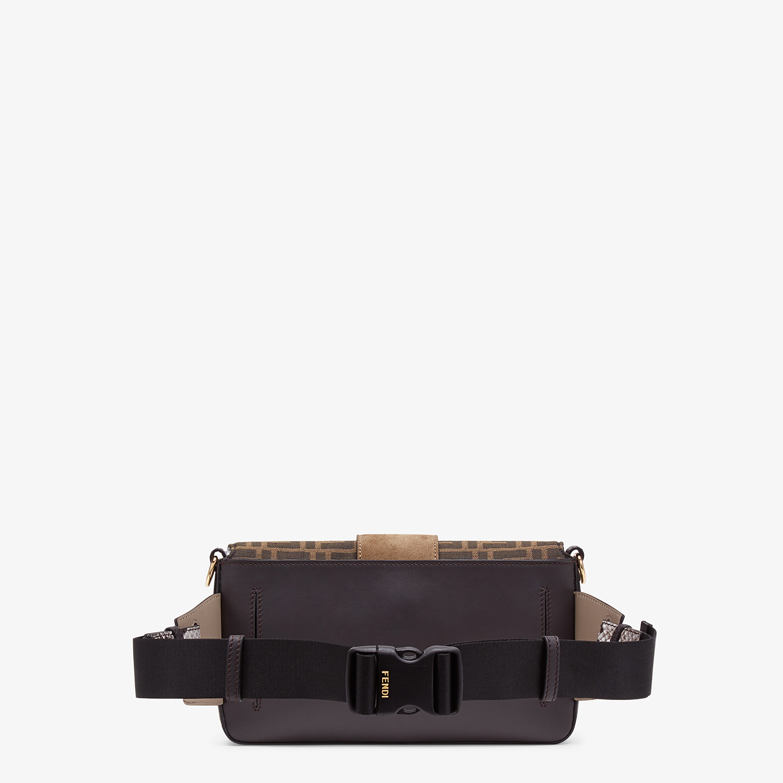 FENDI BAGUETTE - Brown calfskin bag - view 3 detail