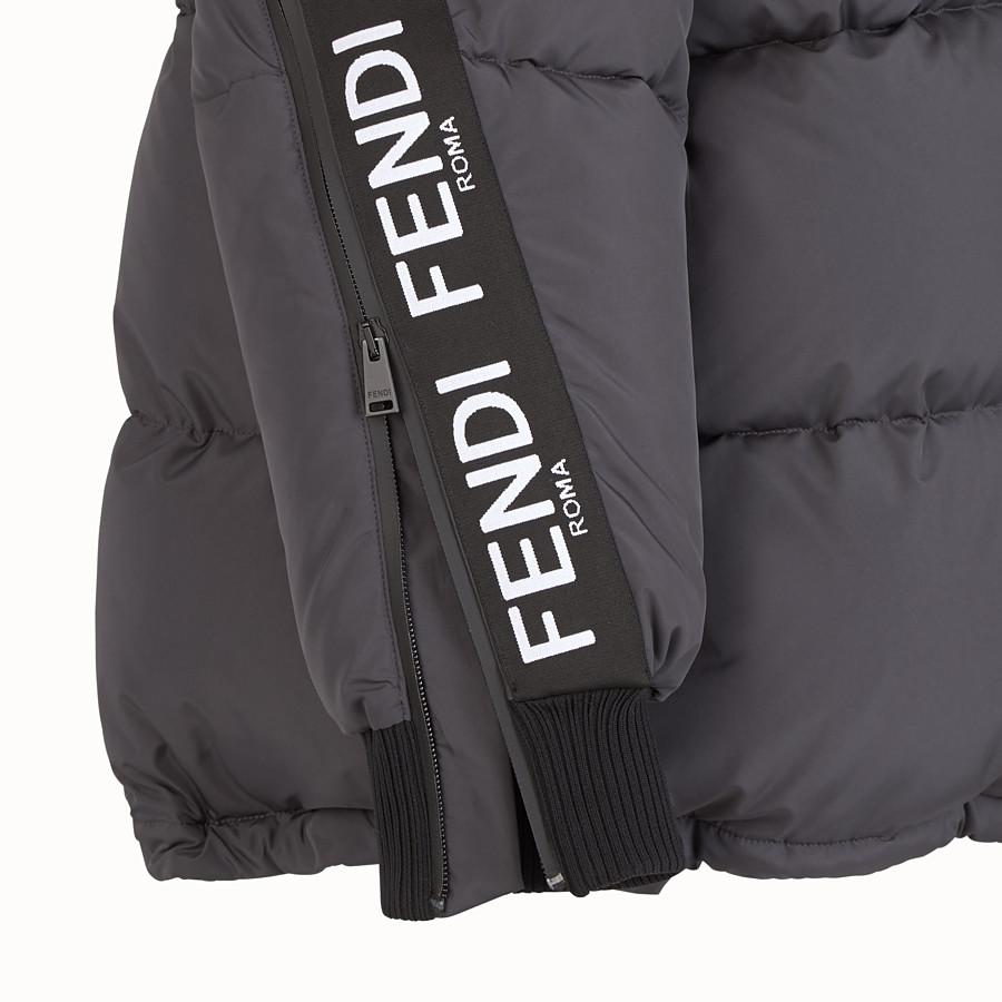 FENDI JACKE - Daunenjacke aus Nylon in Schwarz - view 3 detail
