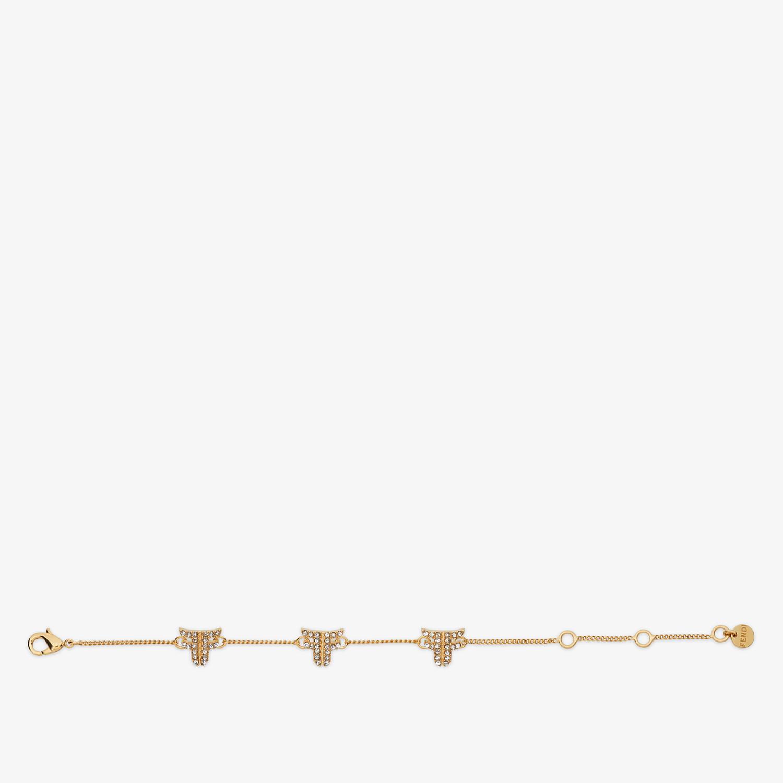 FENDI BRACCIALE FFREEDOM - Bracciale color oro - vista 1 dettaglio