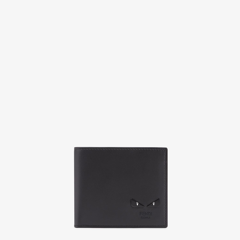 FENDI PORTAFOGLIO - Bi-fold in pelle nera - vista 1 dettaglio
