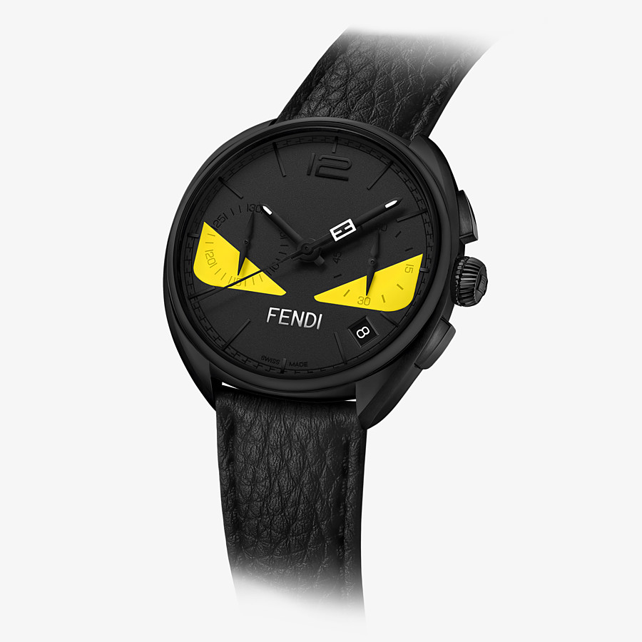 FENDI MOMENTO FENDI BUGS - 40 mm - Chronograph watch with strap - view 2 detail