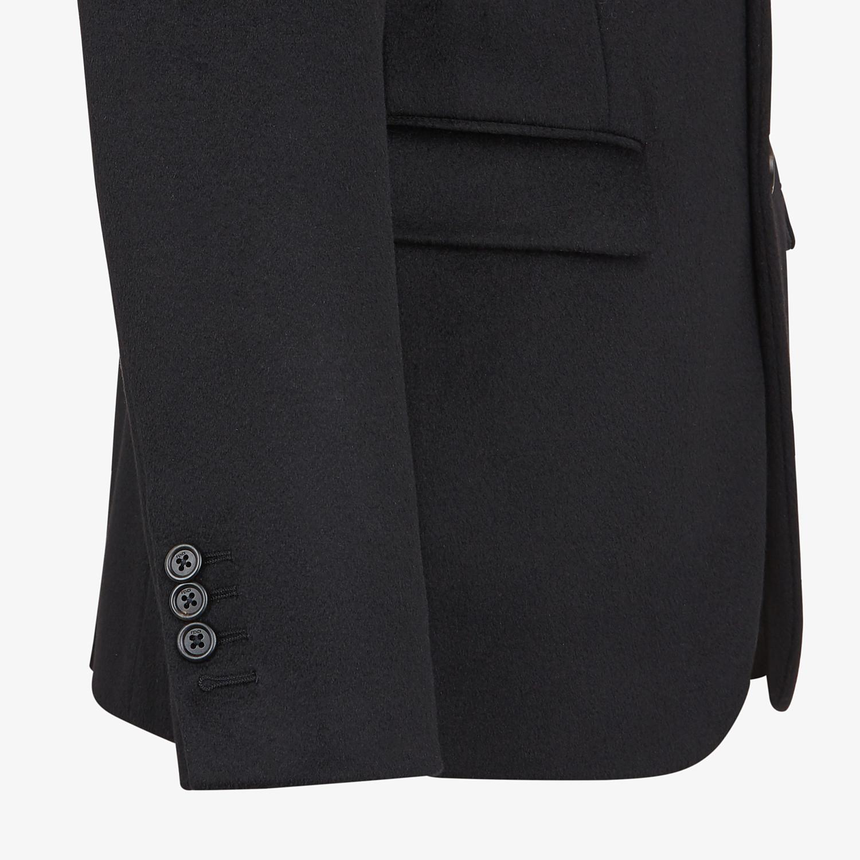 FENDI JACKET - Black cashmere blazer - view 3 detail