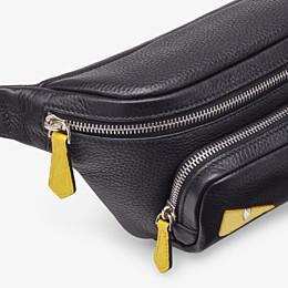 FENDI BELT BAG - Black leather belt bag - view 5 thumbnail