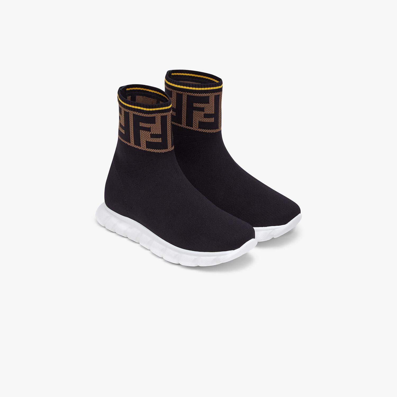 FENDI SNEAKERS - Mesh junior sneakers - view 2 detail