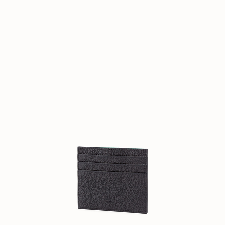 FENDI CARD HOLDER - Multicolour leather card holder - view 2 detail