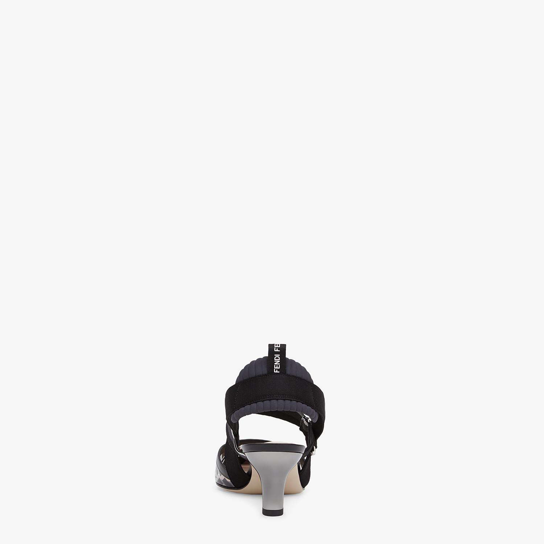FENDI SLINGBACK - Colibrì in PU e pelle nero - vista 3 dettaglio