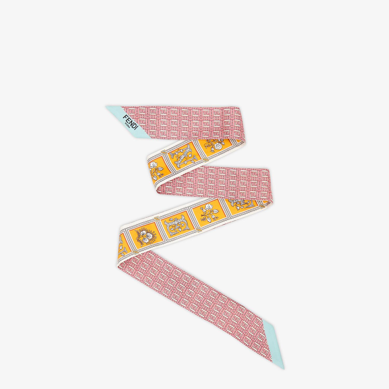 FENDI WRAPPY - Orange silk bandeau - view 1 detail