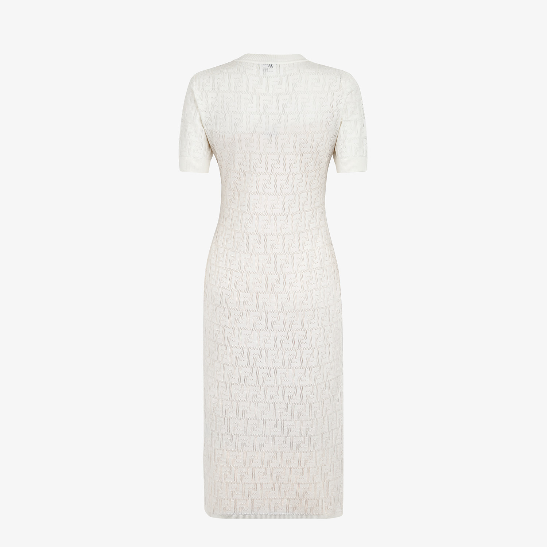 FENDI KLEID - Kleid aus Baumwolle Weiß - view 2 detail