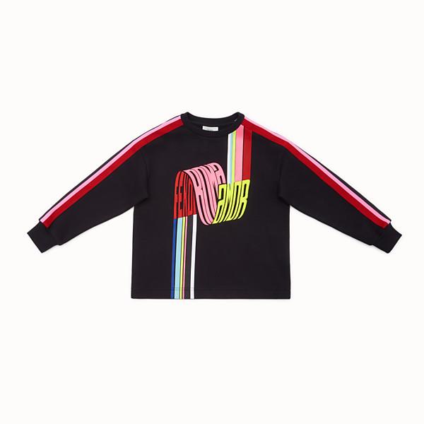 FENDI SWEATSHIRT - Fendi Roma Amor cotton sweatshirt - view 1 small thumbnail