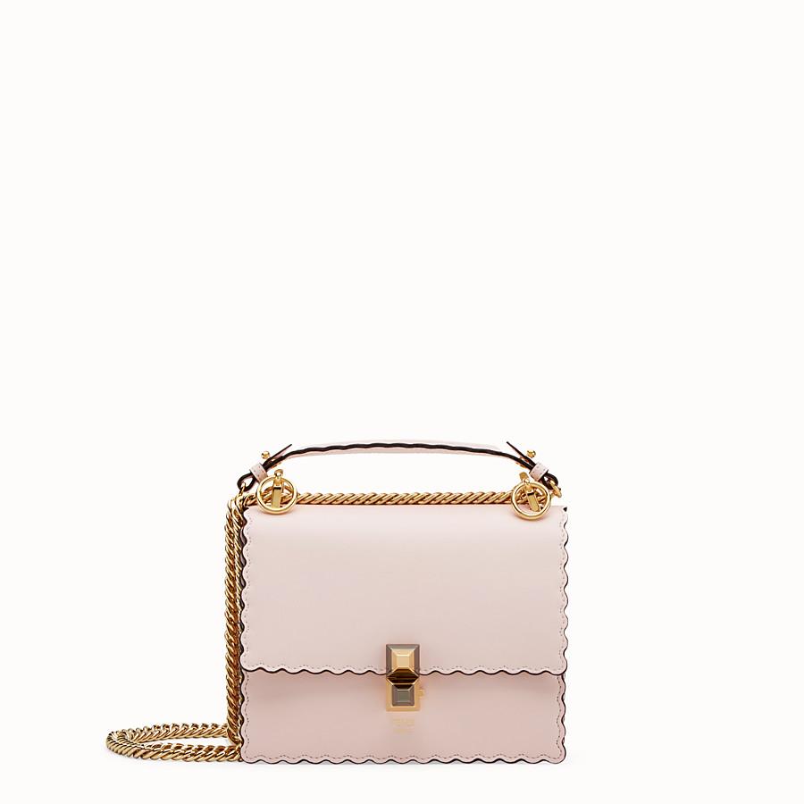 5db35180f0 Pink leather mini-bag - KAN I SMALL