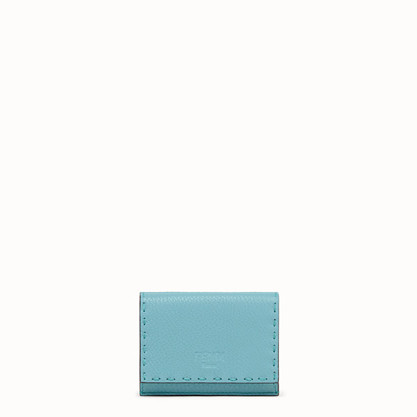 FENDI MICRO TRIFOLD - Fendi Roma Amor leather wallet - view 1 small thumbnail