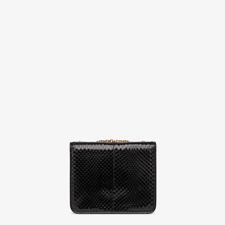FENDI KARLIGRAPHY - Black elaphe bag - view 4 detail