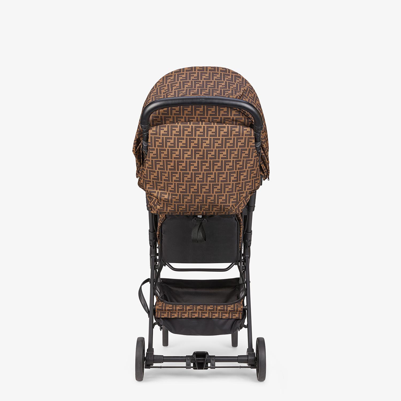 FENDI PUSHCHAIR - FF logo fabric pushchair - view 5 detail