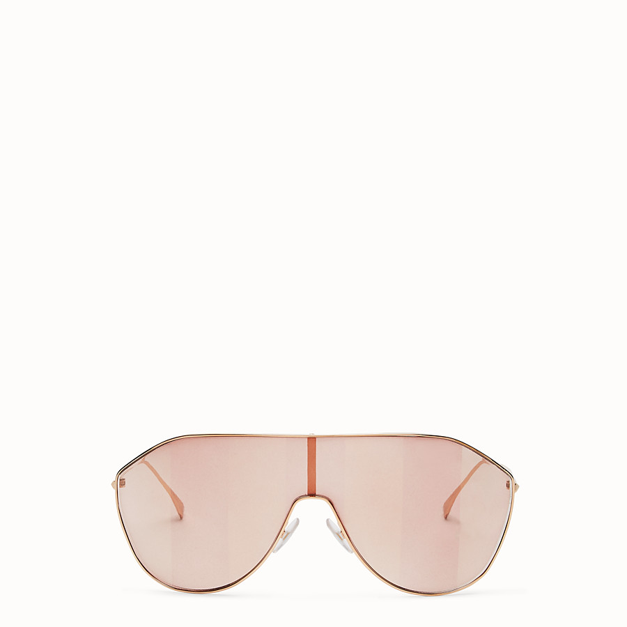 FENDI FF FAMILY - Pink sunglasses - view 1 detail