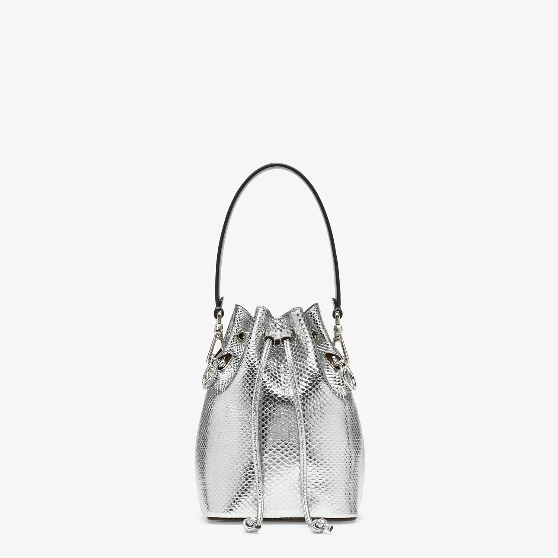FENDI MON TRESOR - Silver karung mini bag - view 1 detail