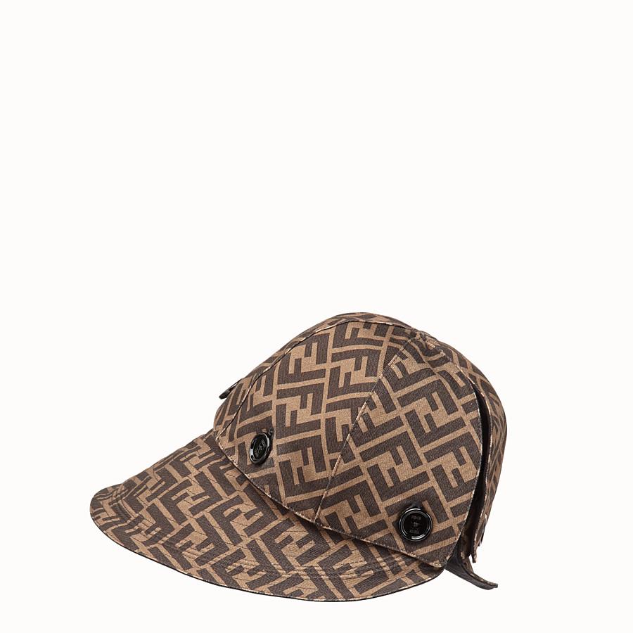 FENDI HAT - Brown cotton hat - view 1 detail