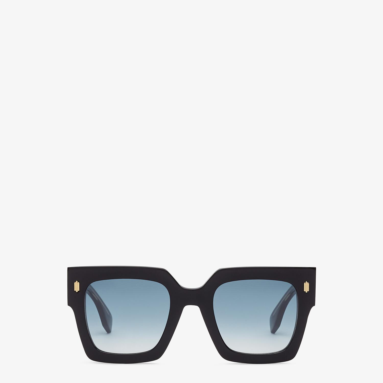 FENDI FENDI ROMA - Black acetate sunglasses - view 1 detail