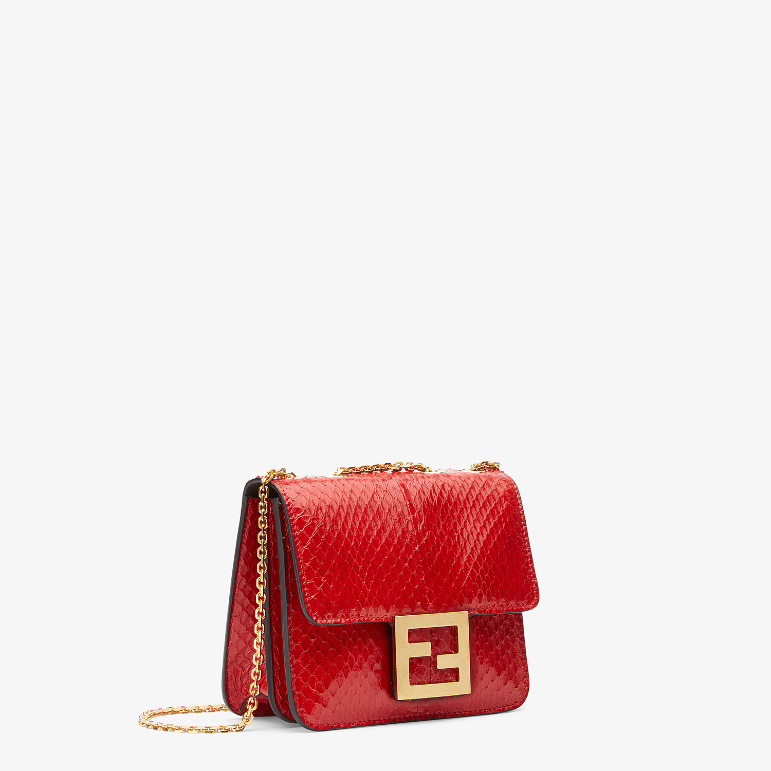 FENDI FENDI FAB - Bag in red elaphe - view 2 detail