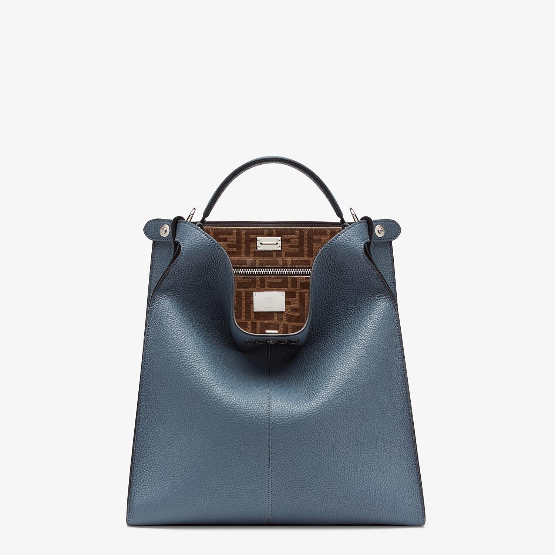 FENDI PEEKABOO X-LITE FIT - Blue Romano leather bag - view 2 detail