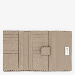 FENDI CONTINENTAL - Beige leather wallet - view 5 thumbnail