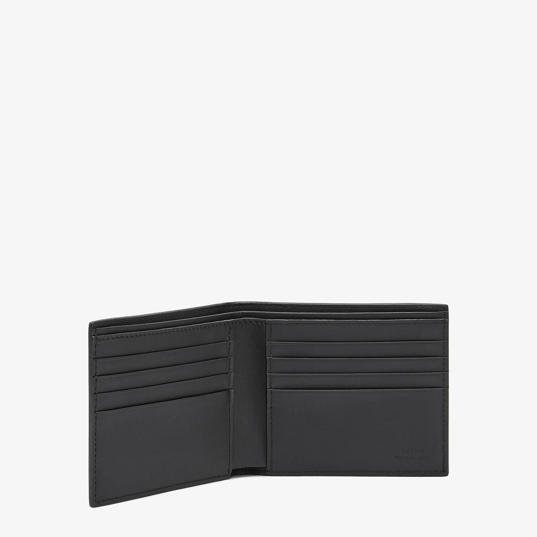 FENDI WALLET - Multicolour leather bi-fold wallet - view 3 detail