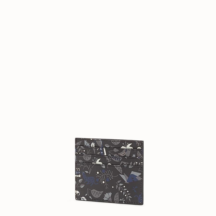 FENDI 卡片套 - 印花皮革卡片套,6個夾層 - view 2 detail