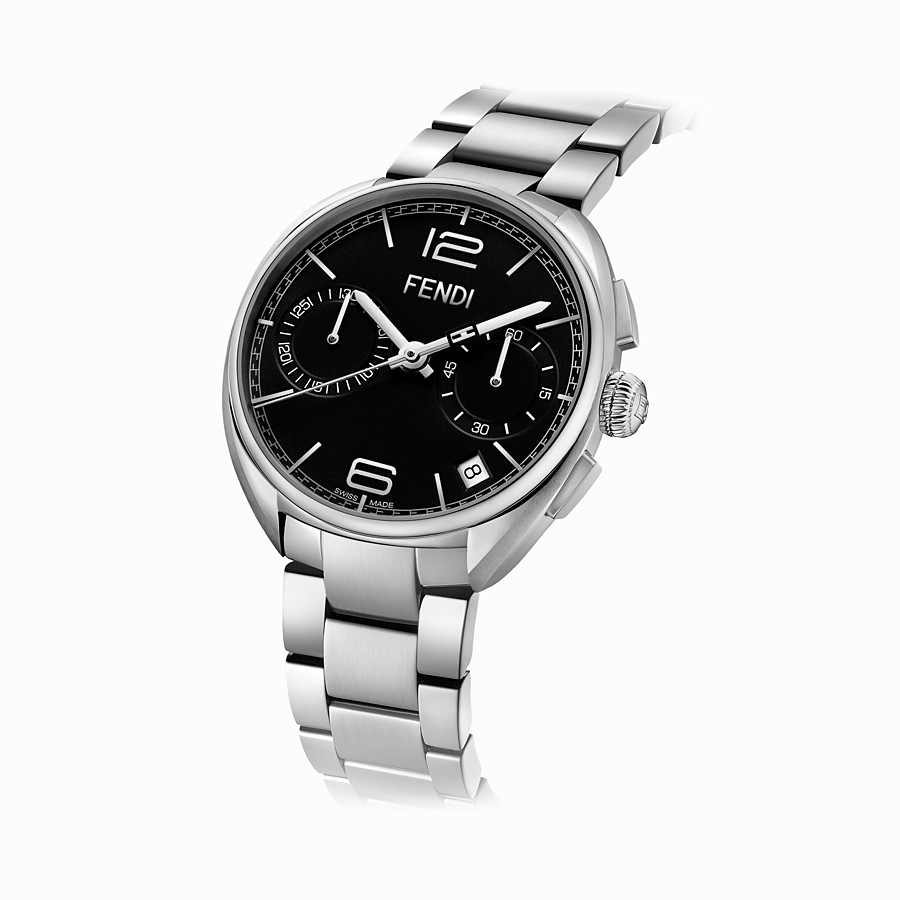 FENDI MOMENTO FENDI - 40 mm - Montre chronographe avec bracelet en acier inoxydable - view 2 detail