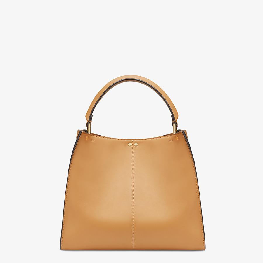 FENDI PEEKABOO X-LITE MEDIUM - Beige leather bag - view 4 detail