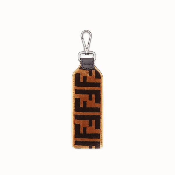 FENDI KEY RING - Multicolor fabric key ring - view 1 small thumbnail