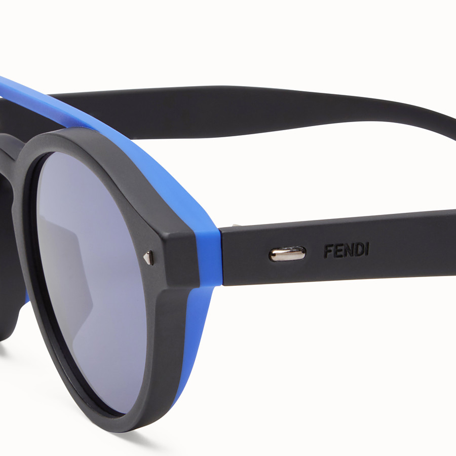 FENDI I SEE YOU - Black Asian fit sunglasses - view 3 detail
