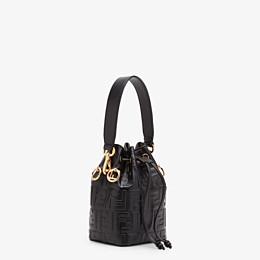FENDI MON TRESOR - Black leather mini-bag - view 3 thumbnail