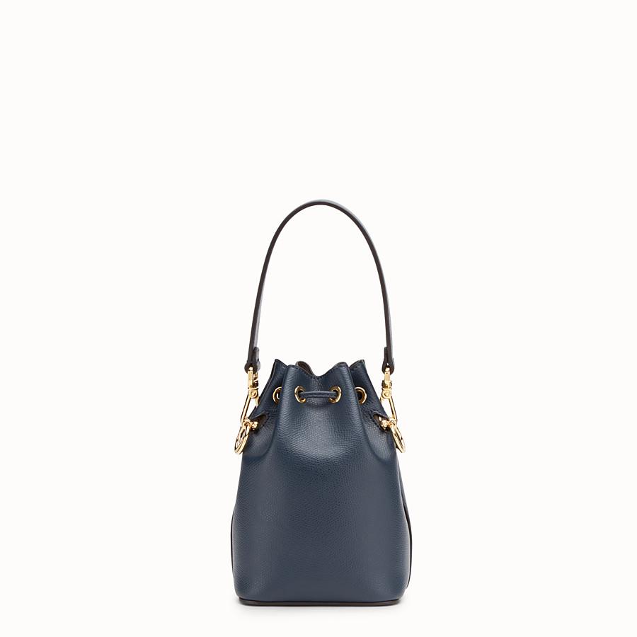 FENDI MON TRESOR - Blue leather mini-bag - view 3 detail
