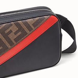FENDI CAMERA CASE - Brown fabric bag - view 4 thumbnail