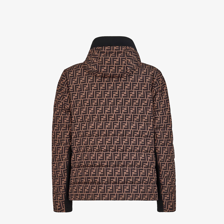 FENDI BLOUSON JACKET - Multicolor tech fabric sweater - view 2 detail