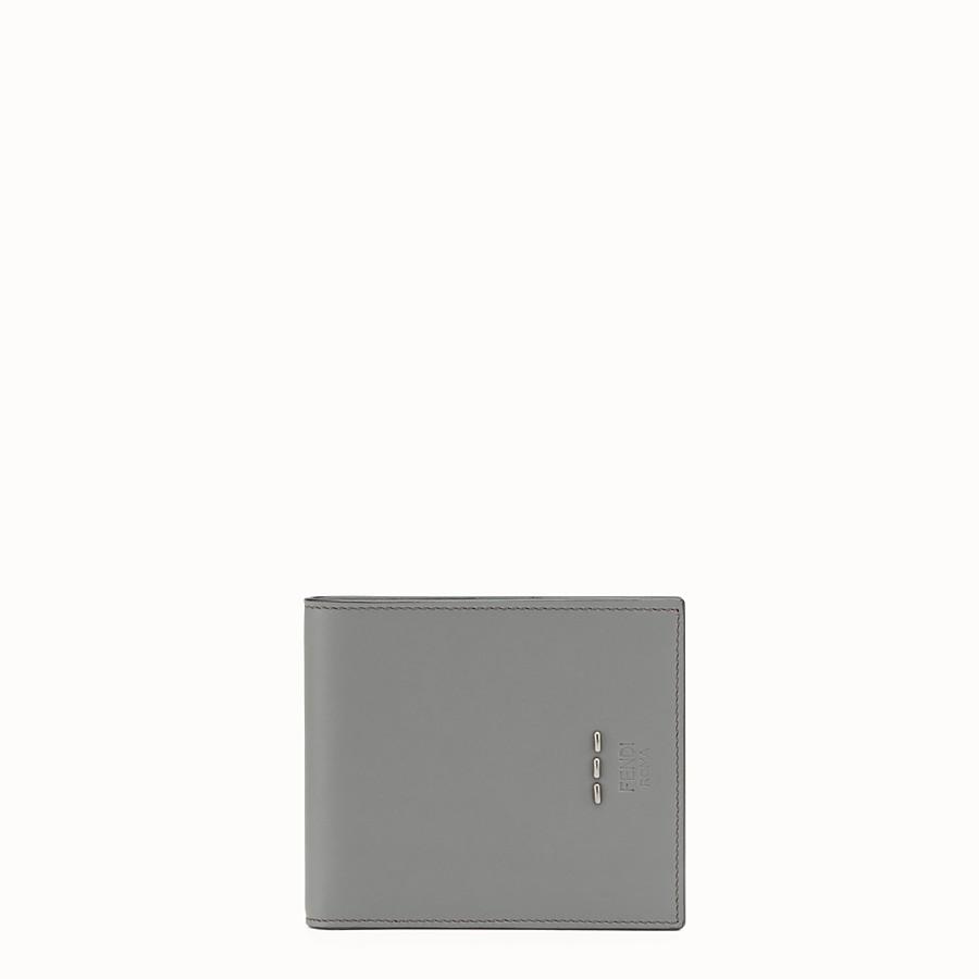 FENDI 皮夾 - 灰色皮革摺疊皮夾 - view 1 detail