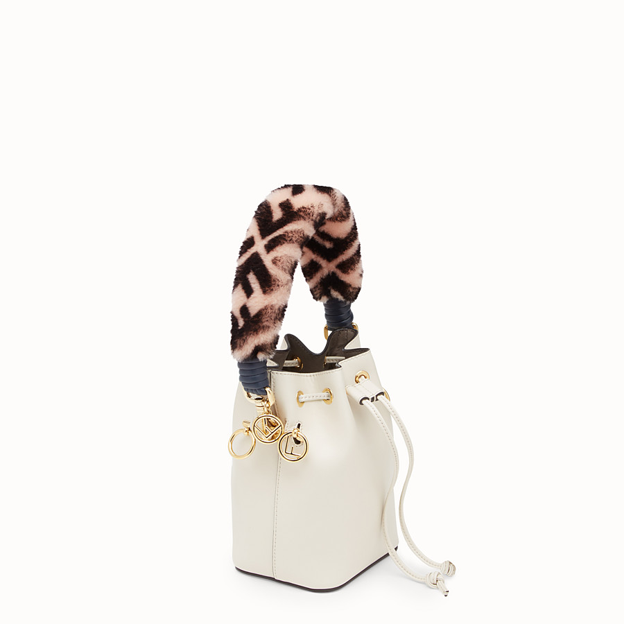 FENDI MINI STRAP YOU - Sheepskin shoulder strap - view 2 detail