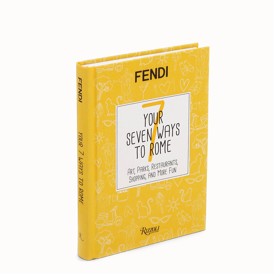 FENDI YOUR SEVEN WAYS TO ROME - Hardback version available in Italian - view 1 detail