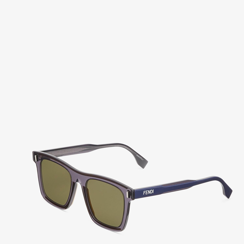 FENDI FENDI - Gray sunglasses - view 2 detail