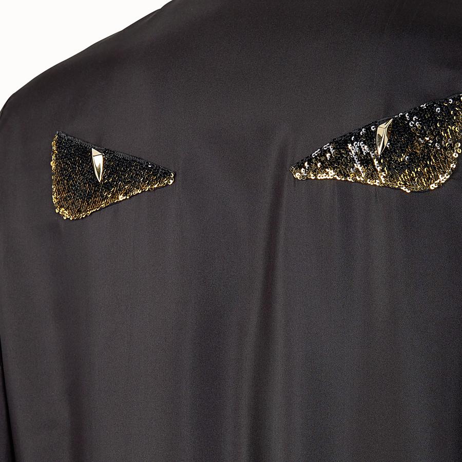 FENDI BLOUSON - Blouson en soie noire - view 3 detail