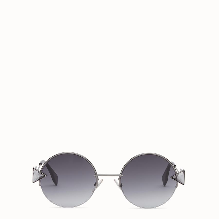 FENDI RAINBOW - Ruthenium-coloured sunglasses. - view 1 detail