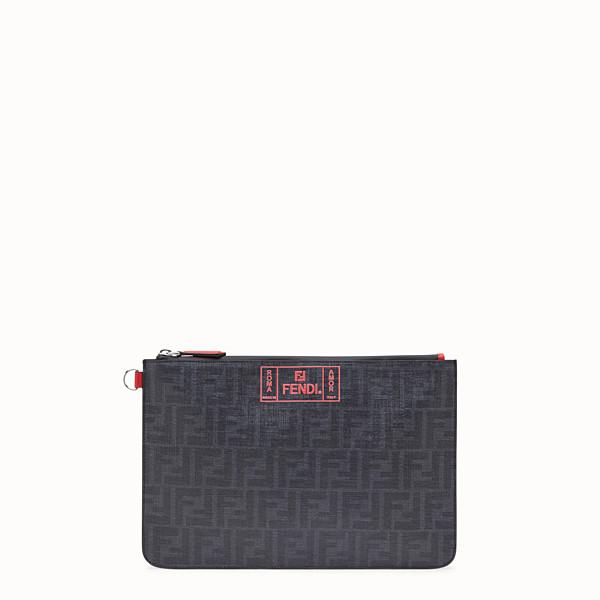 FENDI 手拿包 - 黑色布料小手袋 - view 1 小型縮圖