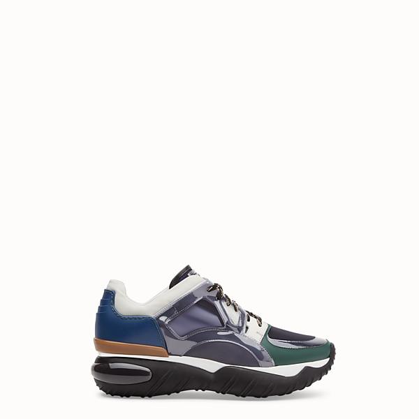 Cuir Luxe Hommes De Et Chaussures Fendi En Fourrure Pwq8g