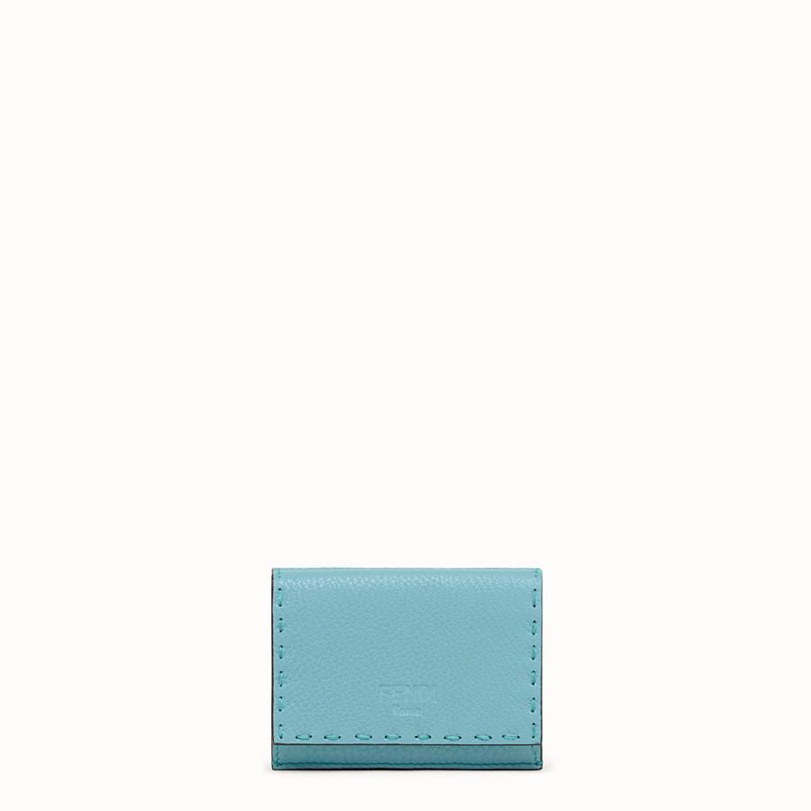 FENDI MICRO TRIFOLD - Fendi Roma Amor leather wallet - view 1 detail