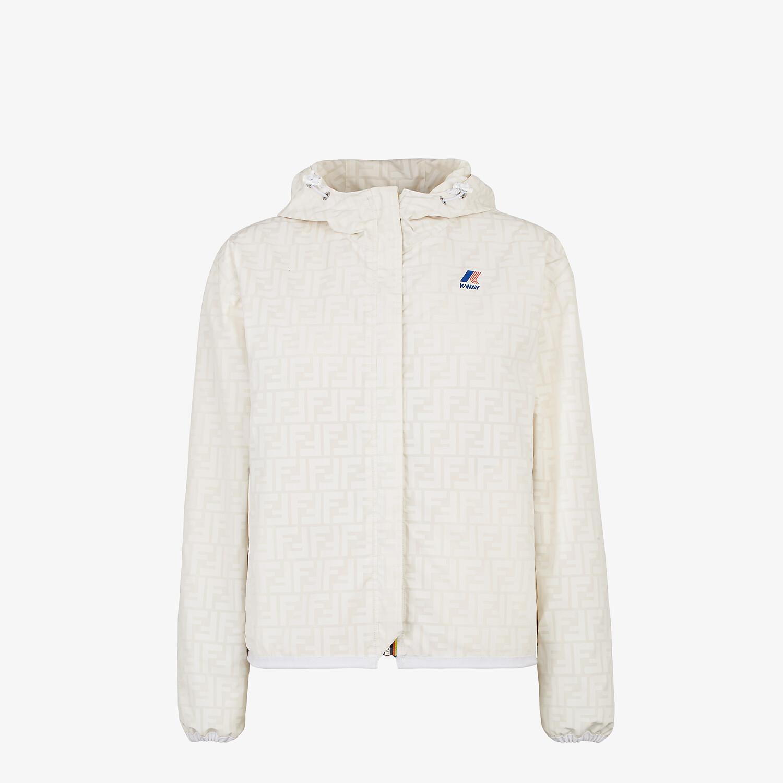 FENDI WINDBREAKER - White mink jacket - view 4 detail