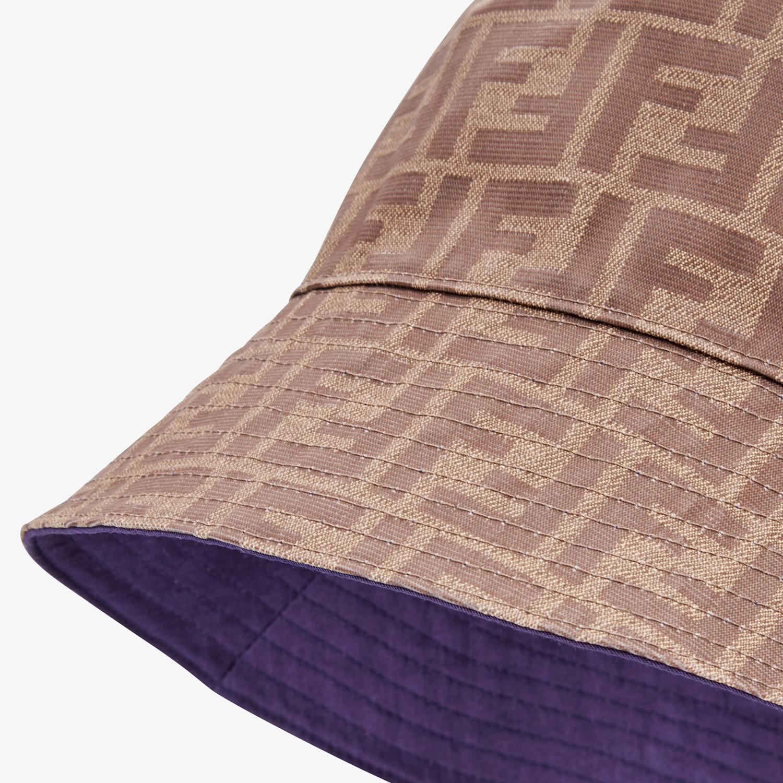 FENDI HAT - Brown fabric hat - view 2 detail