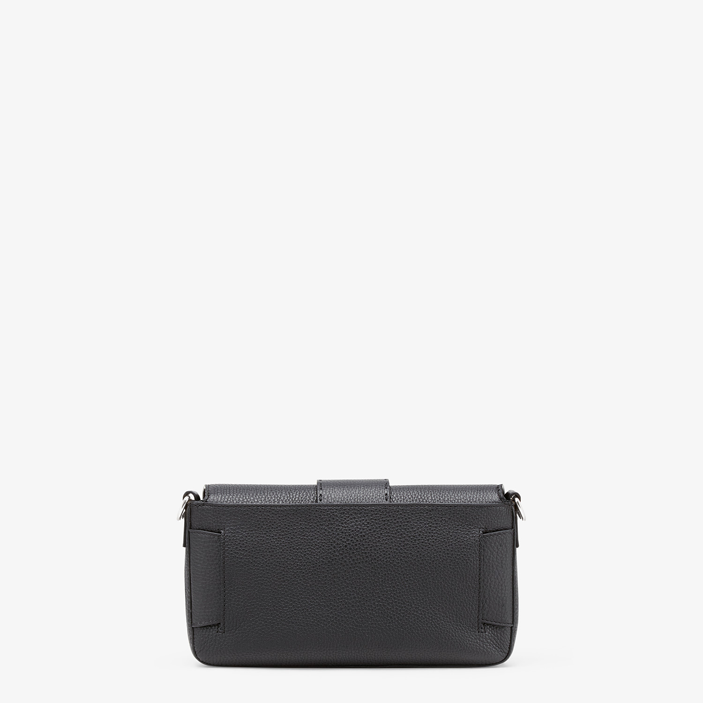 FENDI BAGUETTE - Black calfskin bag - view 4 detail