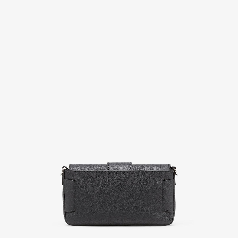 FENDI BAGUETTE - Black calf leather bag - view 4 detail